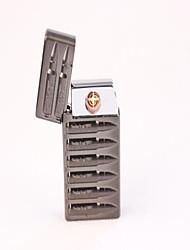 Protection de l'environnement militaire alliage secours Carré électronique de charge Vent allume-cigare