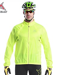 MYSENLAN Men's Windproof Rainproof  Long Sleeve Cycling Wind Coat