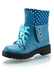 Women's Low Heel Booties/Ankle Boots  (More Colors)