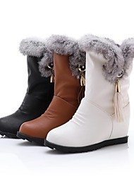 botas de nieve hasta la rodilla botas altas de las mujeres (más colores)
