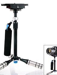 DSL-05 Carbono Aleación de aluminio retráctil Mini portátil cámara Estabilizador para DSLR - Negro