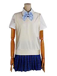 Amour en direct! Les uniformes scolaires cosplay costume