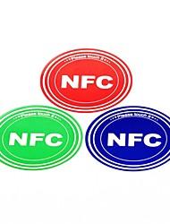 Smart NFC Tags Stickers Set for Samsung/Nokia/BlackBerry/Nexus/HTC Ntag203 144 Bytes (3 PCS)