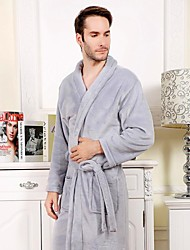 Bath Robe, High-class Solid Garment Bathrobe Thicken