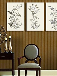 Stretched Canvas Art The Flower of Beautiful Set of 3