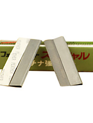 10Pcs Stainless Steel Razor Blade For Eyebrow
