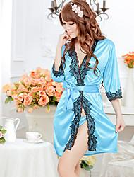 AISIQI Noble Ol Kimono Set Sexy Lingerie (blu)