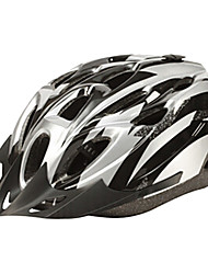 IFire Silver Black Unintegrally moulé Casque de vélo