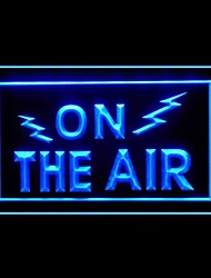 Air Radio Advertising LED Light Sign