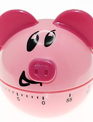 Cute Piggy Style Kitchen Food Preparation Baking and Cooking Countdown Reminder Timer