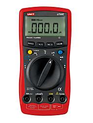 UNI-T UT60E LCD Auto Ranging moderne multimètre numérique Cycle vrai RMS AC Mètres RS232C Tester
