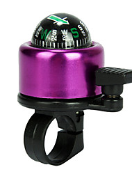 IFire ABS Aluminum Alloy Purple Compass Bike Bicycle Bell