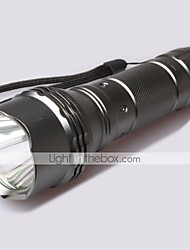 LT-   New Design  5 Modes 1xCree XML-L2 1*L2 Flashlight(1200LM. 1x18650  1*26650 gray)