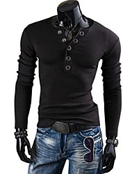 Men's Casual Fashion V Neck T-Shirt