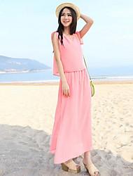 Women's Dresses , Nylon Yaxy
