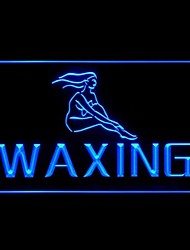 WAXING Women Advertising LED Light Sign