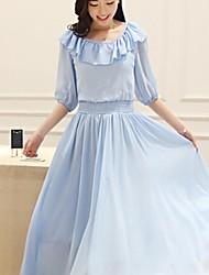 Women's Fair Maiden Chiffon Dress