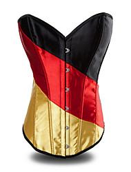 Deutschland Girl Deluxe Satin Gothic Lolita Corset
