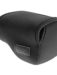 bh-NEXS gewidmet Tauchmaterial Auskleidungssack für Sony NEX5 5t 5r 3n 16-50mm-Objektiv (pink, schwarz, blau, rot, grau)
