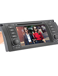 7-inch 1 Din TFT Screen In-Dash Car DVD Player For BMW 5 Series X5 E39/E53 1996-2001 With Bluetooth,Navigation-Ready GPS,RDS,Canbus