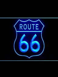 Route 66 Map Advertising LED Light Sign