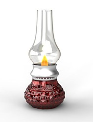 Rechargeable Table Lamps , Modern/Comtemporary Glass