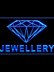 Open Jewellery Precious Advertising LED Light Sign