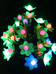 Novelty Flower Shape Plastic Table Lamp