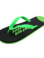 Quiksilver Herren Komfortable Green Beach Flip Flops