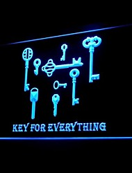 KEY Unlock Locksmith Advertising LED Light Sign
