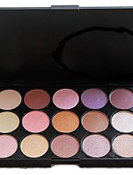 Professional 15 Color Shimmer Metal Warm Eyeshadow Makeup Palette