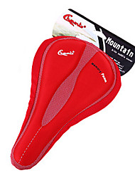 CHAUNTS 3D Double Thickening Memory Sponge Red Bicycle Saddle Seat Cover