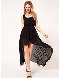 Women's Dresses , Chiffon Casual ORG