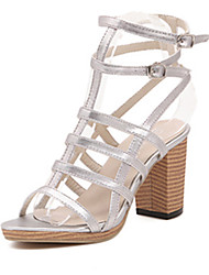 IPIEN Rough Heels Campagus Sandal (White)