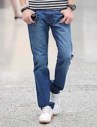 Slim Straight pantalon de jeans pour hommes