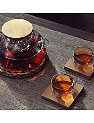 """Klassische Tee-Set, Glas 5 """"x5"""" x4 """", Set 2"""