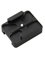 Gun рейку для GoPro героя 4/3 + / 3/2 центре Горы Picatinny ткача пейнтбол sj5000 / sj6000