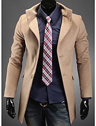 ManMax Men'S Fashion Breast Tweed Coat