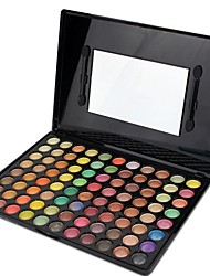 88 Eyeshadow Palette Dry / Matte / Shimmer / Mineral Eyeshadow palette Powder Large Smokey Makeup / Party Makeup