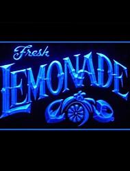 Limonade Soda Publicité LED Connexion