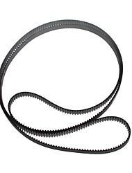 yuanbotong makerb reprap courroie de distribution de fibre de verre pour imprimante 3d - noir