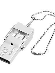6600 telefono mobile usb flash drive doppia interfaccia 2gb