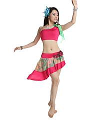 Barriga Leite Silk de Dancewear / Atuação Mulheres Dança Outfits (mais cores)