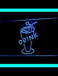 Cold Drink Advertising LED Light Sign