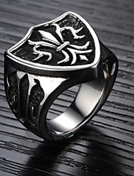 Stylish Men Cool the High-quality Goods Titanium Steel Ring
