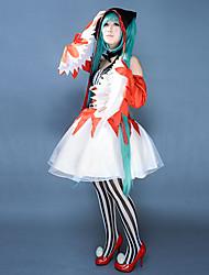 Vocaloid Diva F Miku Cosplay Costume