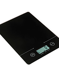 5kg/11lb LCD Digital Kitchen Scale with Super Slim Body and Touch Button Function (Assorted Colors)