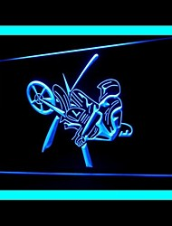 Motorcycle Jump Motor Racing Game Advertising LED Light Sign