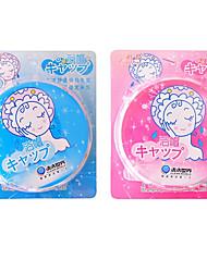Lace Waterproof Cloth Shower cap Random Color