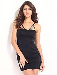 cinto sem encosto sem mangas mini vestido sexy condoer das mulheres